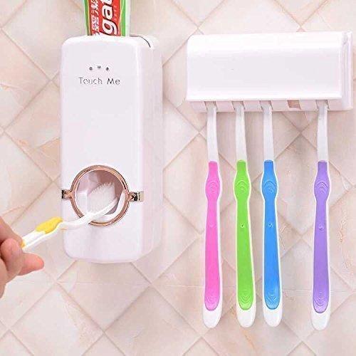 Skycandle Touch Me Automatic Vacuum Toothpaste Dispenser Squeezer