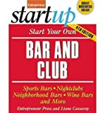 Telecharger Livres Start Your Own Bar and Club Author Entrepreneur Press Jan 2014 (PDF,EPUB,MOBI) gratuits en Francaise