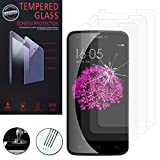 ANNART 3-Piece Tempered Glass Film Screen Protector for