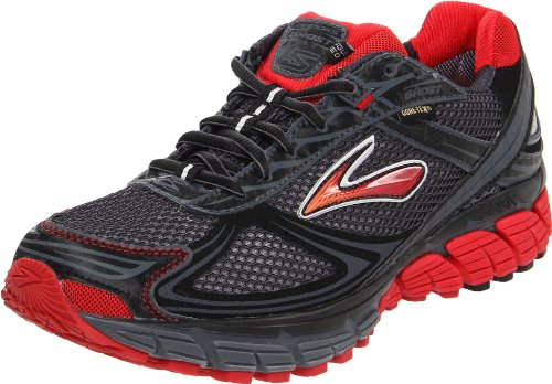 Brooks Ghost Gtx M, Herren Sportschuhe - Running Red/Black