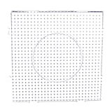 Large Square Clear Perler Fuse Beads Peg...