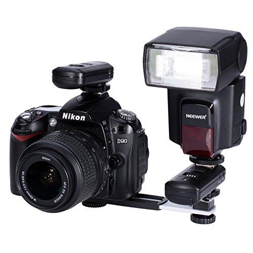 Neewer 10028130 Blitzschiene für Blitzschuh Digital DC Kamera Arme Halterung