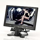 BW 9 pulgadas TFT LCD Monitor - en el coche reposacabezas / soporte, diseño ultra-delgado, 800x480...