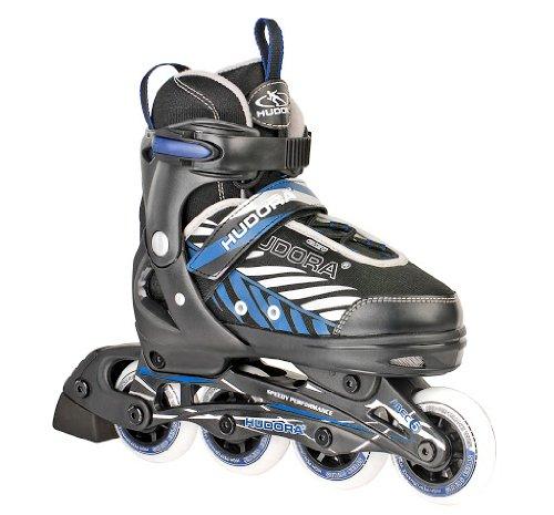 frozen inliner HUDORA Kinder Inliner Leon - Gr. 29 - 32, schwarz/blau - Inline-Skates - 28232