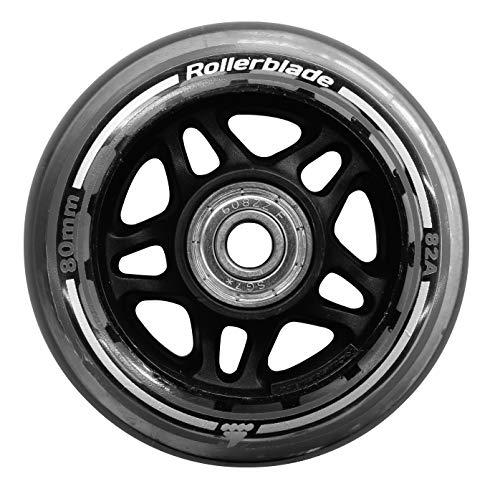 Rollerblade Unisex - Erwachsene 80/82A Pack+SG7+8MMSP (8PCS) Wheels, neutral, UNICA
