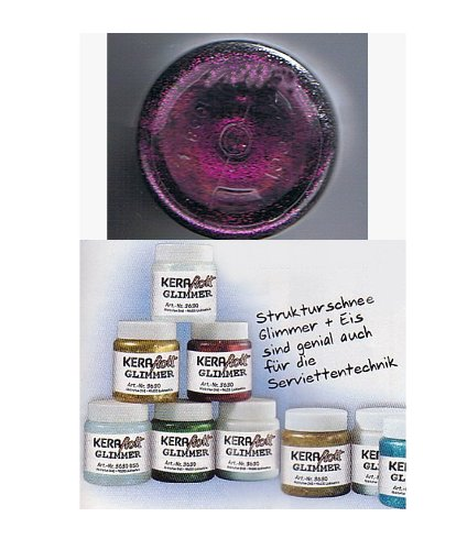 HobbyFun Glimmer Finish 59 ml petunie - Glimmer-finish