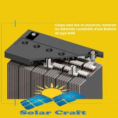 AGM Blei Batterie Akku kompatibel für Elektro Motor cnvertisseur PV 12V 120Ah