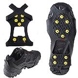 WADEO Ice Snow Grip Shoe Chains Antideslizante Cubrezapatillas Snow Zapatos Crampones
