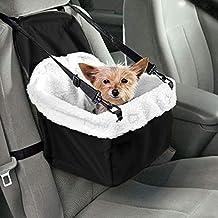 IGS Asiento de Coche para Perros y Gatos, Caja de Transporte para Perros, Caja