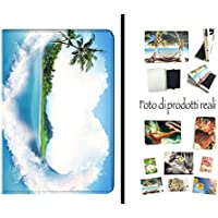 COVER PER TABLET CUORE ISOLA AMORE PER SAMSUNG GALAXY TAB S 10.5 SM-T800