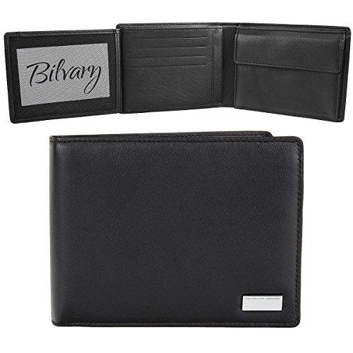 PORSCHE DESIGN Billfold H10 Bourse Portefeuille P 3300 Noir Black