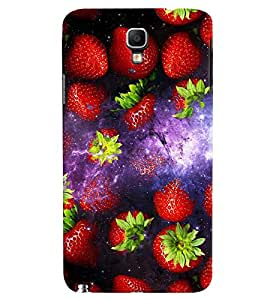Fuson 3D Printed Fruits Designer back case cover for Samsung Galaxy Note 3 Neo N7505 - D4513