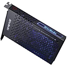 AVerMedia LIVE GAMER HD 2 – Sin drivers. La capturadora de videojuegos profesional en formato PCIe que te permite hacer streaming y grabación en 1080p@60fps a tiempo real con 0 retardo. HDMI y Recentral 3 (GC570)