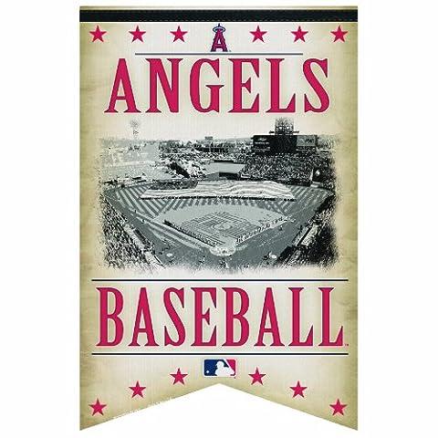 MLB Anaheim Angels Premium Felt Banner 17-by-26