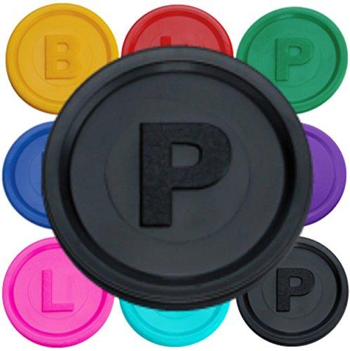 500-pfandmarken-chips-token-mit-den-buchtaben-b-p-oder-l-in-14-farben-schwarz-p-zum-top-preis-von-sc