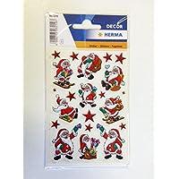 """HERMA Stickers de Noel DECOR""""Noel classique"""" 3 x 21 sticks"""