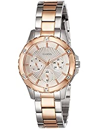 Guess Damen-Armbanduhr Analog Quarz Edelstahl W0443L4