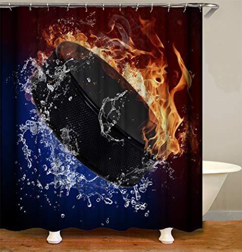 Eine Seite Ist EIN Lautsprecher Mit Wasser Auf Einer Seite. Wasserdicht. Einfach Zu Säubern. Duschvorhang. 180X180Cm.