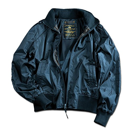 Alpha Industries Fliegerjacke Hawk repl. blue Größe S