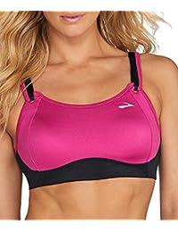 dd8599d35b Brooks Women s Fiona Medium-Impact Adjustable Sports Bra (B-DD)