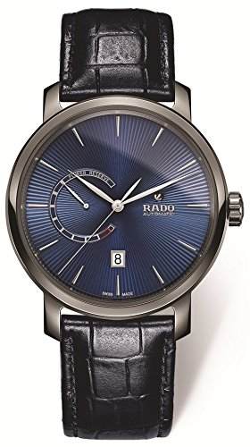Rado DiaMaster - Reloj para hombre, dial azul automático, tamaño XL