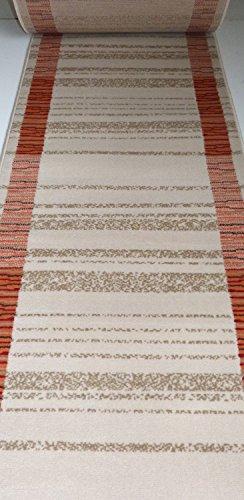 Läufer Teppich Creme 8230 Meterware lfm. 11,90 Euro Breite 60 x 700 cm