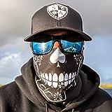 Spades Skull SA Company Face Shield/Loop Schal/Halstuch/Sturmhaube. Echt Multifunktionale Kopfbedeckung/Schal. LSF 40. Outdoor Aktivität (Angeln, Laufen, Radfahren, Motorrad, Walking, Reiten etc.)