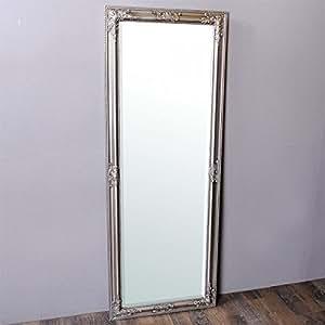 wandspiegel 160x60cm silber antik barock design spiegel. Black Bedroom Furniture Sets. Home Design Ideas