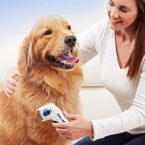 Shop - Elektrischer Flohkamm für Tiere - ideal für Hunde und Katzen