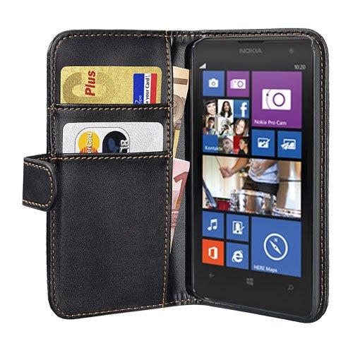 PEDEA Bookstyle Hülle für Nokia Lumia 1020 Tasche, schwarz (Schwarz Tasche 1020 Lumia Nokia)