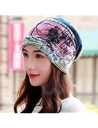 AlexVyan Stylish Ponytail Beanie Winter Cap Bandanas HeadWear For Women Crochet Knit Cap Skull Beanies Warm Caps Female Knitted Stylish Hat Ladies Fashion