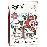 "3-tlg. Dresdner Essenz Geschenkset ""Zarte Winterträume"" Wohlfühlset Pflegeset Geschenkidee Duschgel"