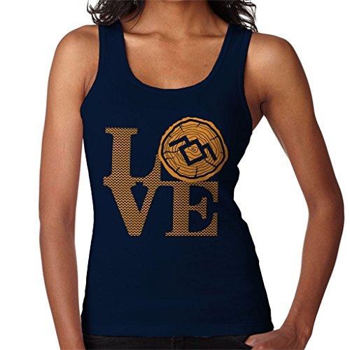 Twin Peaks is Love Women's Vest Navy blue