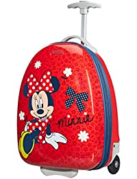 Valise cabine rigide Minnie Bow 45 cm rouge