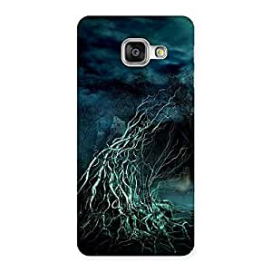 Stylish Horror Tree Multicolor Back Case Cover for Galaxy A3 2016