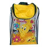 Childrens TV Show Character Licensed Transparent Clear Swim Beach Travel Sports Bag Range Girls Boys & Unisex Designs (Tweety Bird)