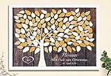 42x29,7 cm Kunstdruck auf Papier Geburtstagsgeschenk Jubiläum Gästebuch von CristalPainting Geburtstag Taufe Kommunion Verlobung Polterabend Geschenk