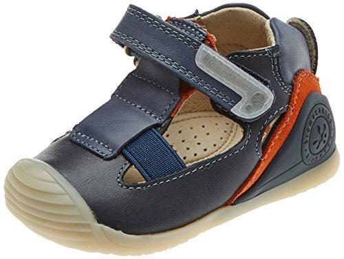 Garvalin Chaussures Premiers Pas Pour Bébé (Garçon) Bleu Bleu - Bleu - Bleu, 21 EU