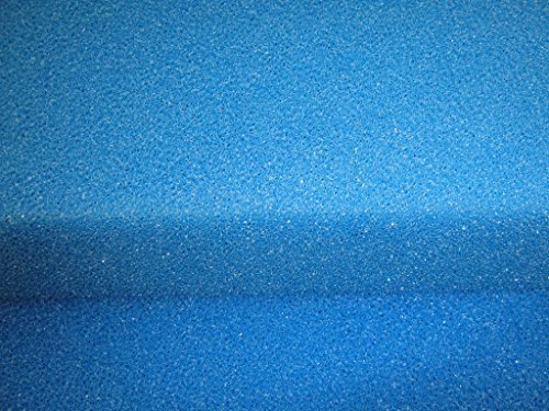 Filtermatte, Filterschwamm, Filterschaum, 50x50x10 cm PPI10/grob