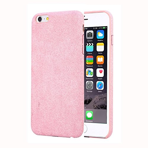 iPhone Case Cover Pour iPhone 6 & 6s PC et Ultra Fiber TPU Protective Back Case Portable Durable. ( Color : Pink ) Pink
