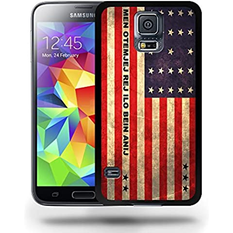 Bikini Atoll National Vintage Flag Phone Case Cover Designs for Samsung Galaxy S5
