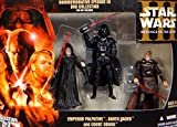 Emperor Palpatine, Darth Vader & Count Dooku - Commemorative Episode III Collection - Star Wars Revenge of the Sith Collection 2005 von Hasbro