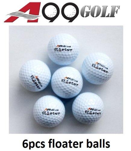 A99 Golf Mobile Lot de 6 balles d'entraînement flottant avec logo)