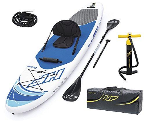 Bestway 65303 - Tabla Paddle Surf Hinchable Hydro-Force Oceana Remo de