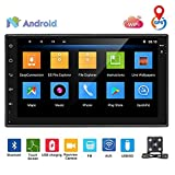 podofo Car Stereo Android 8.0 Car Radio Double Din Head Unit With Speaker