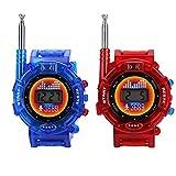 Zerodis- Walkie Talkie, 2PCS Reloj de Pulsera Digital...