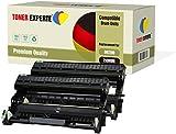 TONER EXPERTE Kit 2 DR2200 Tamburi compatibili per Brother DCP-7055 DCP-7060D DCP-7065DN HL-2130 HL-2132 HL-2135W HL-2240 HL-2240D HL-2250DN HL-2270DW MFC-7360N MFC-7860DW FAX-2840 (12000 Pagine)