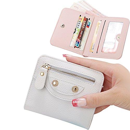 Portafogli da Donna Borsa con Diamante Bowknot Modello, Bonice Multifunzionale [Grande Capacità] Smartphone Wristlet Custodia Case Cover per iPhone 8 /8 Plus /X /7 /7Plus /6S /6S Plus /6 /6Plus /SE /5 Mini Wallet 08