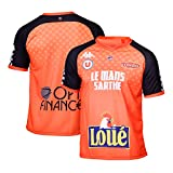 MSB Le MANS Officiel Domicile 2018-2019 Maillot de Basketball Mixte Adulte, Orange, FR (Taille Fabricant : 2XL)