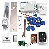 NAVKAR DIY Full Kit Set RFID Keypad Access Control System + Electric Drop